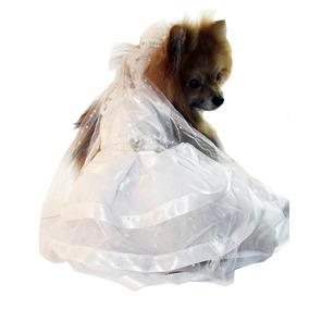 Vestido De Noiva Para Cachorra Tamanho Gg