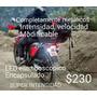 Luz Estrobo Intermitente Led Motocicleta Seguridad Potente
