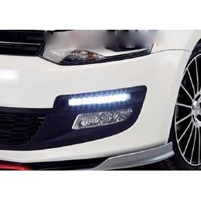 Kit Faro Auxiliar Led Universal Tipo Xenon Para Auto Moto