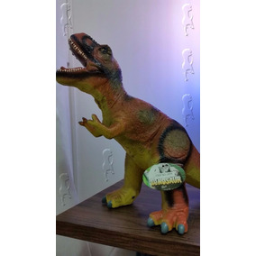 Trex T-rex Dinossauro Em Vinil Grande - Jurassic Park World
