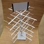 Rack Expositor Encartelados De Balcão Material Metalon