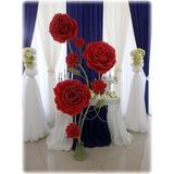 Decoração Flores Gigantes Casamento Festa Eva Eventos Kit 10