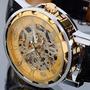 Reloj Moda Skeleton Mecanico Winner