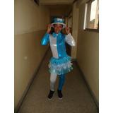 Traje Arlequin Elegante Mujer Festejo Agencia Carnaval