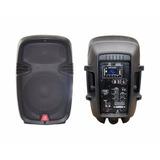 Cabina Parlante Recargable 8 Pulgadas Bluetooth Usb Fm 250 W