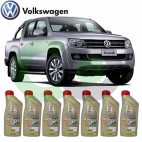 Kit C/ 7 Litros Oleo Motor Castrol Edge 5w30 Amarok Diesel