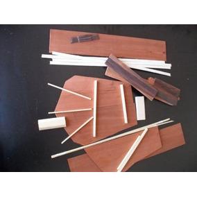 Kit Cavaquinho Em Mogno Maciço Para Luthier