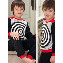 Pijama Invierno Marcela Koury Kids - Varon Nene