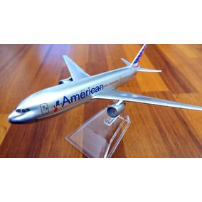 Boeing 777 American Airlines - 16 Cm - 1/400 - Promoção!