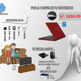 Laptop Dell Core I3 + Regalo Impresora Laser