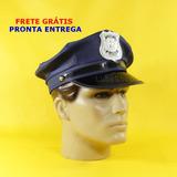 Quepe Policial Azul   Quepe Militar Policial C  Frete Grátis 4f04faafe29