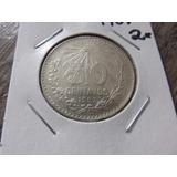 Moneda De Plata 50 Centavos 1907 Ley .800 7 Recto 2