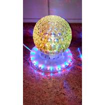 Luces Led Esfera Colores Giratoria Navidad