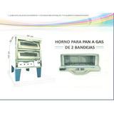 Horno Dos Camaras 2 Bandejas A Gas Panaderia Y Pizza