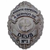 Distintivo Adesivo - Agente Especial Nº1 - Resinado