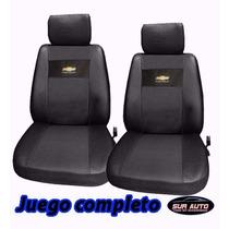 Fundas Cubre Tapizados Asientos Con Logo Bordado Chevrolet