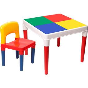 Mesa Mesinha Infantil Multi Colorida Plástico 9200 Bell Toy