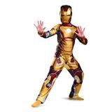 Disfraz Para Niño Marvel Iron Man 3 Marcos Traje Clásico 42