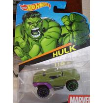 ¡¡ Hot Wheels - Hulk - Marvel Avengers Nuevo !!