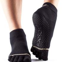 Medias Toesox Ankle Full Pilates Yoga Danza Artes Marciales