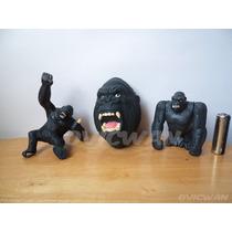 Tres Juguetes De King Kong Burger King Figuras Pl7