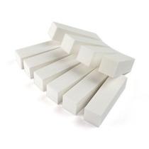 Kit 10 Lixas Bloco Fecha Poro Polir Branca