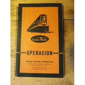 Trenes Antiguos Manual De Operación D Trenes Original