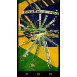 Kit De 300 Pulseiras Borracha Brasil 0,40 Cada Copa Do Mundo