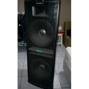 Caixa Biamplificada Studio R Sky Sound 1000