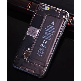 Protector Funda Iphone 6 / 6s Diseño De Pila Y Tarjeta Madre