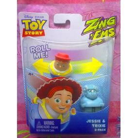 Toy Story Set De Figuras De Jessie Y Trixie