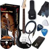 Paquete De Guitarra Eléctrica Cort