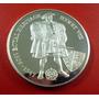 Islas Malvinas Moneda De Plata Enrique Viii 2 Libras 1996