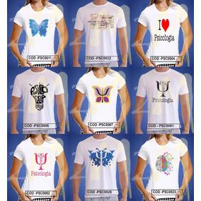Camisa , Camiseta Baby Look Psicologia ,faculdade Curso