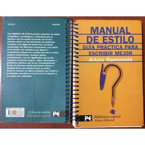 Manual De Estilo Para Escribir Arturo Ramoneda