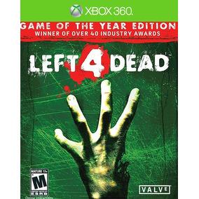 Left 4 Dead Edicion Juego Del Año Xbox 360 Y Xbox One