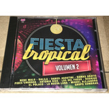 Cd Fiesta Tropical Vol 2 +cd De Regalo De Pibes Chorros