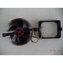 Cooler Universal Em Aluminio Amd Ou Intel + Base