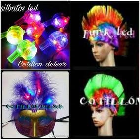 Combo Carnaval Pulseras Neon Led Corbatas Fiesta Carioca 150