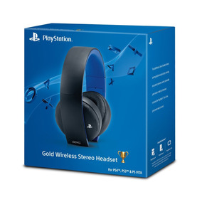 Headset 7.1 Sony Gold Inalámbrico Ps4 Ps3 Mac Pc Movilshopcr