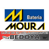 Bateria 12x75 Auto Moura Mi24kd Nafta Diesel Gnc Cuotas!!!