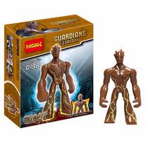 Guerdianes De La Galaxia Groot Unico Minifiguras Coleccion!