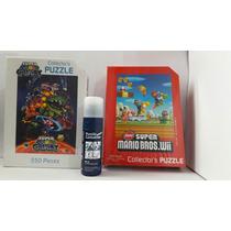 Rompecabezas Mario Galaxy+mario Bros+pegamento+envío Gratis