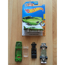Hot Wheels Dodge Charger 69 Super Treasure Sth Y Prototipo .