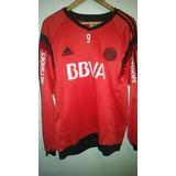 Buzo Rojo 2013 #09 River Plate adidas Cambio