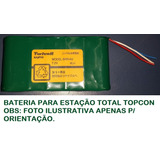 Bateria P/ Estação Total Topcon Series