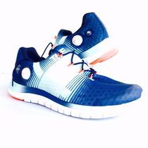 Oferta Tenis Reebok Crossfit Pump Azules En 6.5mx