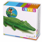 Cocodrilo Flotador Inflable Intex