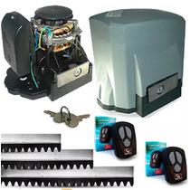 Kit Motor Portão Eletrônico Deslizante Garen 100% Garantia