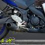 Escape Ponteira Firetong Willy Made Em Inox - Yzf R3 Yamaha